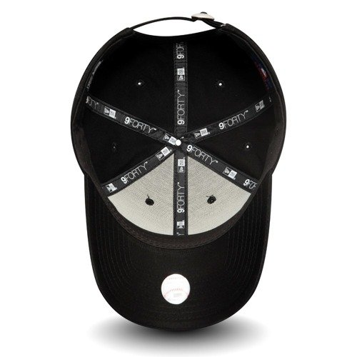 Czapka New Era Los Angeles Dodgers Essential 9FORTY Black Custom Rose - 12052000