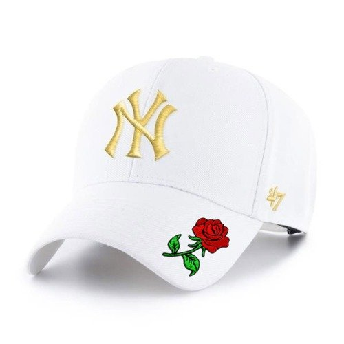 Czapka z daszkiem 47 Brand MLB New York Yankees gold Custom Rose  - B-MVPSP17WBP-WHE