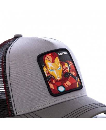 Czapka z daszkiem Capslab Marvel Iron Man trucker - CL/MAR/1/IRO3