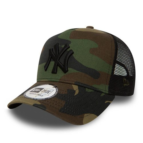 Czapka z daszkiem New Era MLB New York Yankees Clean A Frame Trucker camo moro - 11579473