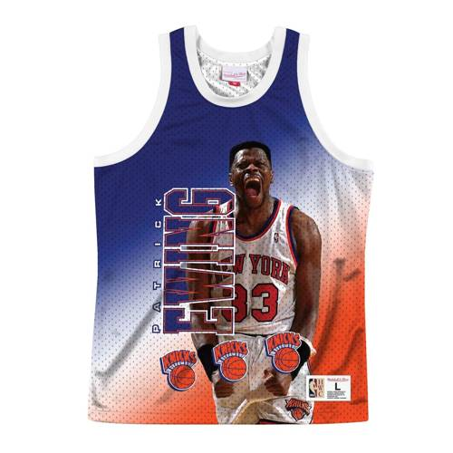Koszulka Mitchell & Ness NBA Behind The Back Tank New York Knicks - Patrick Eving