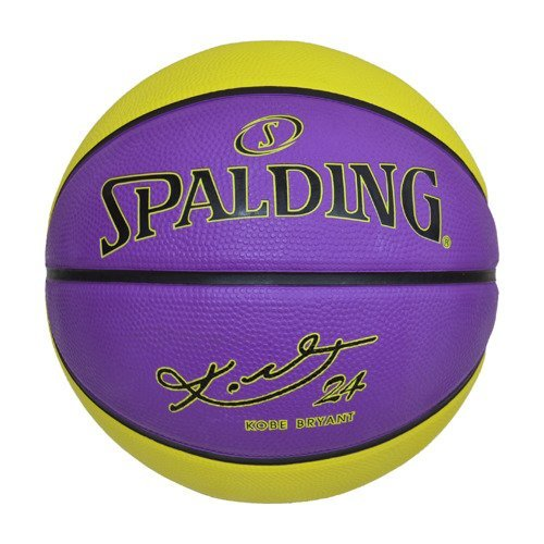 Piłka do kosza Spalding NBA Kobe Bryant Los Angelse Lakers Dogbone Ball + Pompka do piłek Air Jordan Essential